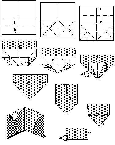 Кошелек из бумаги своими руками оригами 481