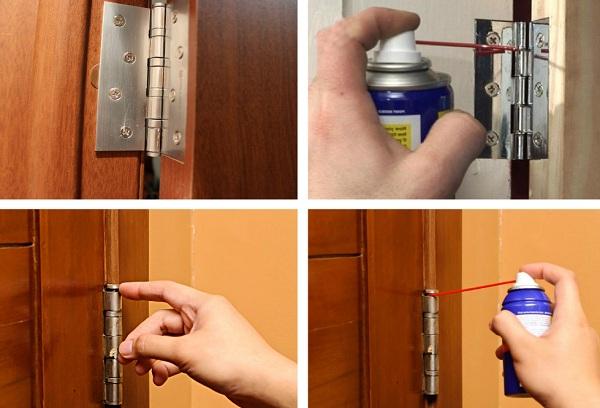 Как сделать скрипящую дверь 10