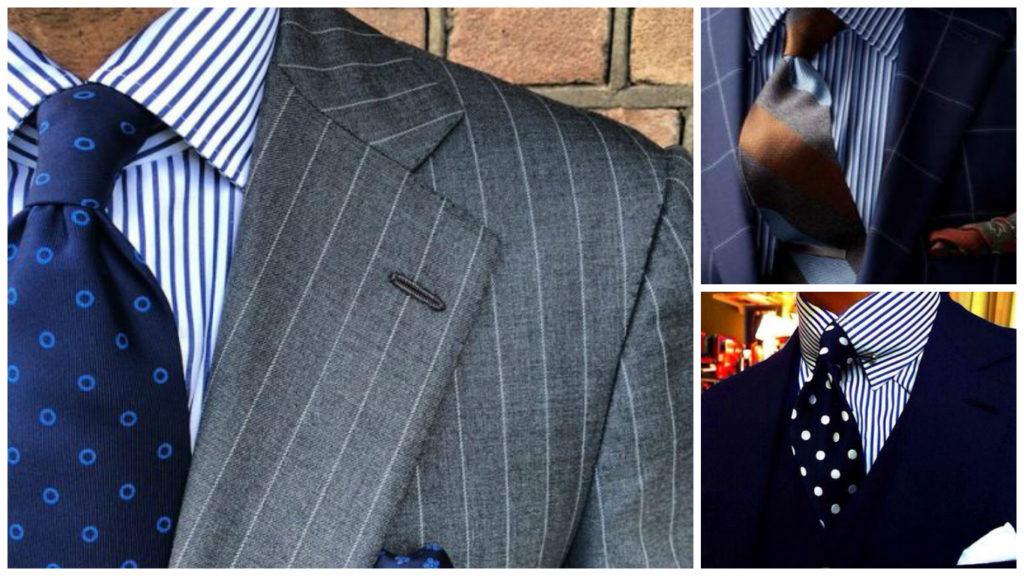 7b8acd7ca2 Klietka a vzory na kravatu a na obleku - ako kombinovať